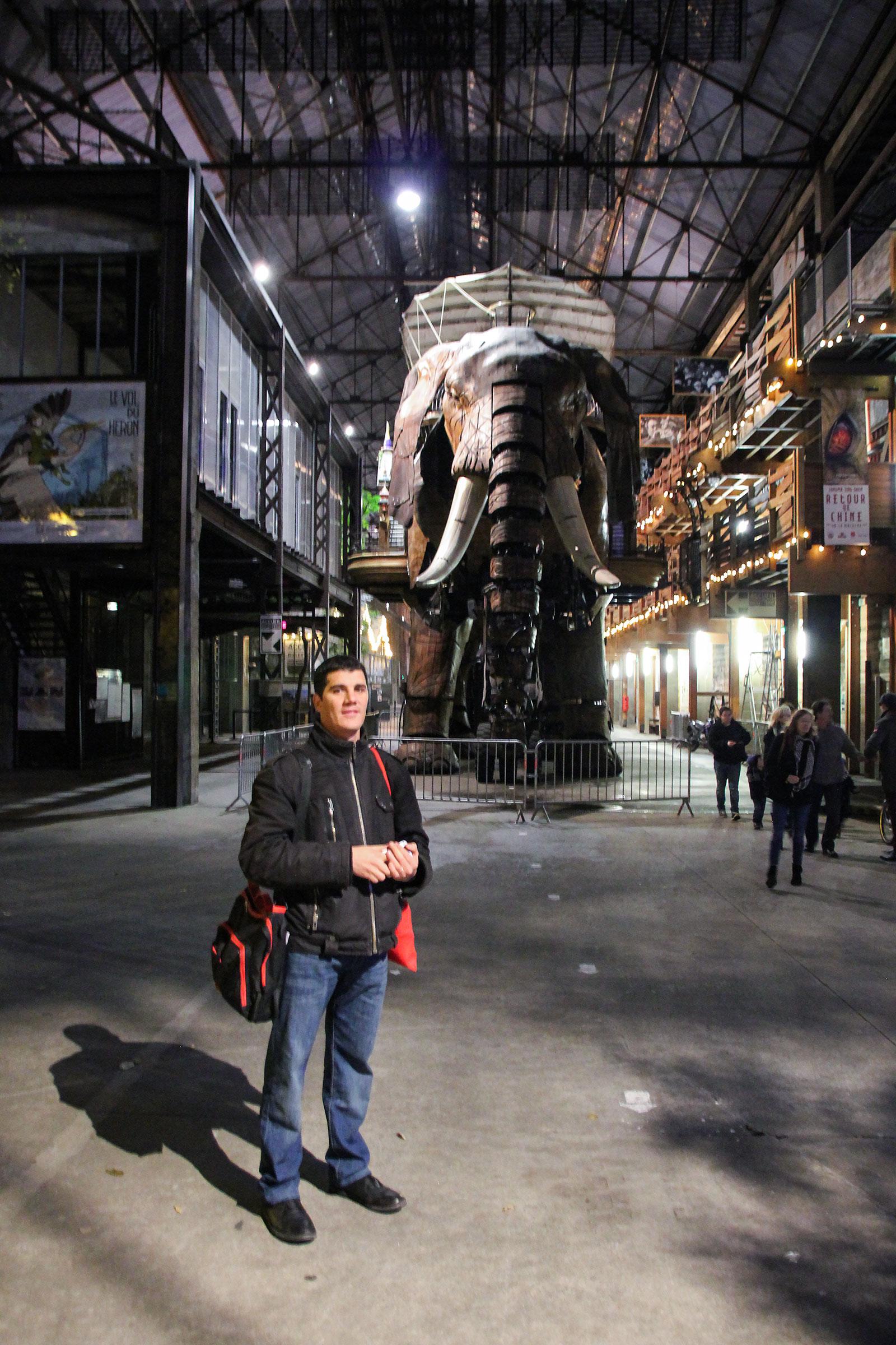 Thomas and the Elephant